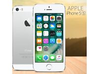 Apple IPhone 5S Silver 16GB Unlocked With Warranty