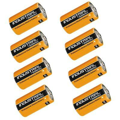 8x Duracell INDUSTRIAL Procell 1.5V Type D Cell MN1300 LR20 Alkaline Batteries Industrial Plus Alkaline-batterien