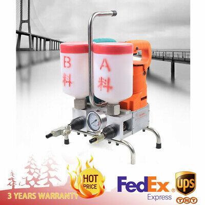 Grouting Steel Machine Epoxy Injection Air Pump Polyurethane Foam 1500w 110220v