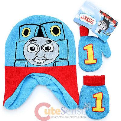 Thomas Tank Engine Beanie Gloves Set Thomas Big Face Warm Set -Toddler  Boys