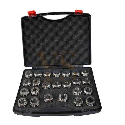 New Precision 24pcs (4-26mm) ER40  COLLET SET For CNC TOOLHOLDER Package Set