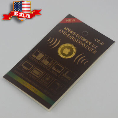 Anti Radiation Patch Sticker 99% Radiation Protection Gold-24K for sale  Shipping to India