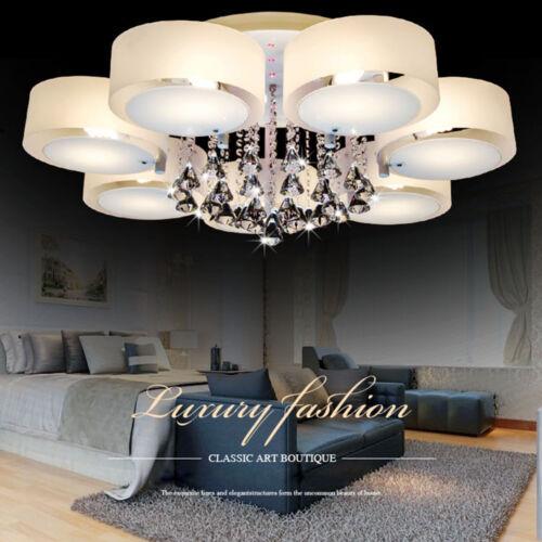 Kristall Deckenlampe Anhänger Kronleuchter Lampe Hängeleuchte 3 5 7 Lichter
