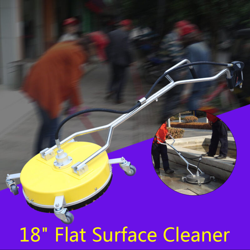 """18"""" Flat Surface Concrete Cleaner Pressure Washer 4000PSI cold/hot Water 275Bar"""
