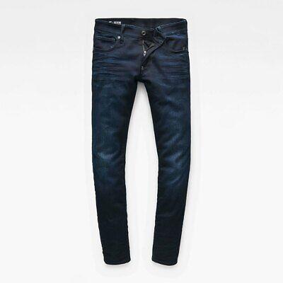 G-Star RAW Mens Revend Super Stretch Super Slim Skinny Jeans, W34 L38 Tall BNWT