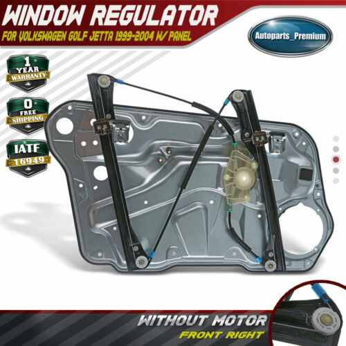 Rear Right Passenger Side Power Window Regulator without Motor for Volkswagen Jetta 2005-2010