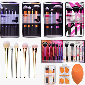 Real-Techniques-Cosmetic-Brushes-Set-Vogue-Brushes-Kit-Hot-Beauty-Makeup-Brushes