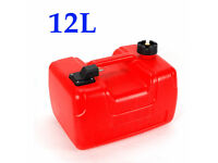 Portable Fuel Tank 3.2 Gallon For Yamaha Marine Outboard Fuel Tank W// Connector