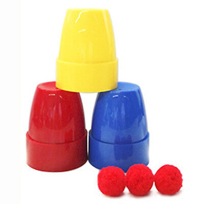 Funny Solid Complete Course In Cups And Balls Magic - Includes Cups And Balls