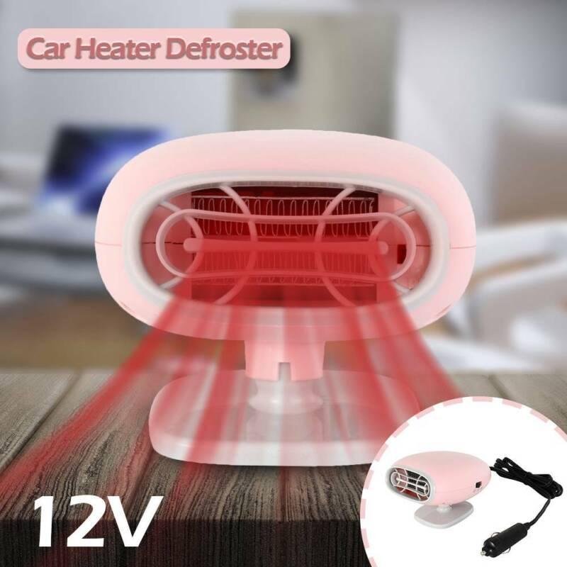 12V Car Fan Heater Cooler Windscreen Demister Defroster Cold