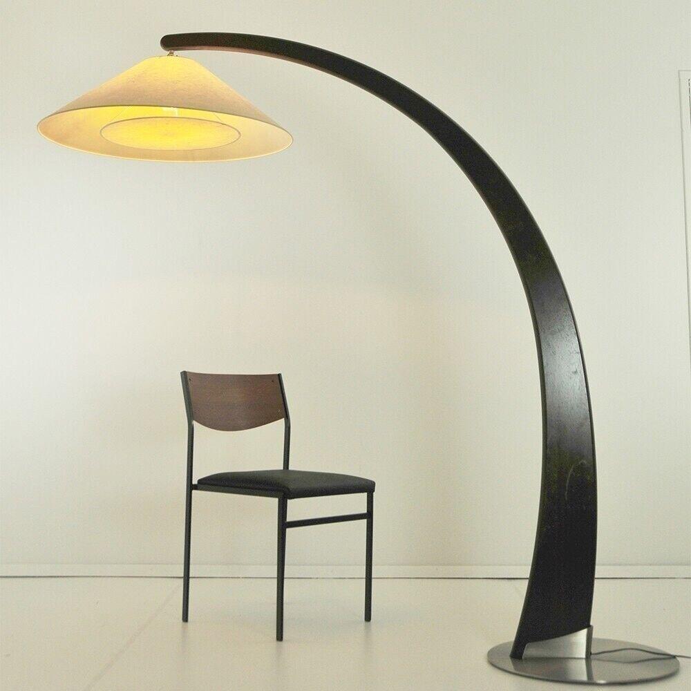 Natuzzi Dutch Style 1990s Wooden Arch Floor Lamp Designer Light In West Park Yorkshire Gumtree