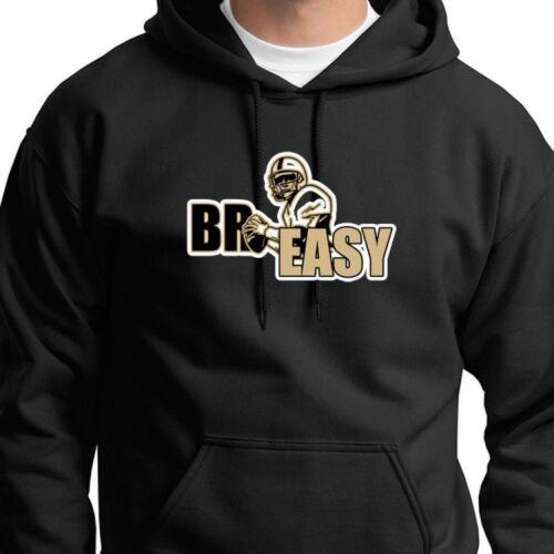 best sneakers a0bc3 4d5e9 Details about BR EASY New Orleans Saints T-shirt Jersey #9 Drew Brees  Hoodie Sweatshirt