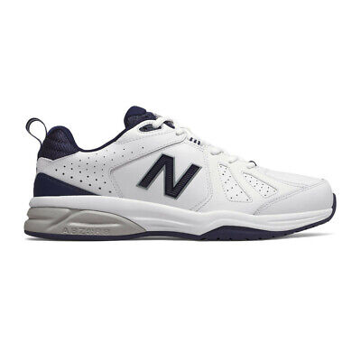 New Balance Mens 624v5 Training Gym Fitness Shoe - White Sports Breathable