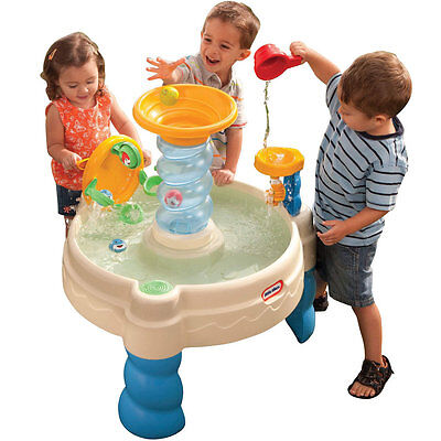 Little Tikes Spirallin Seas Waterpark Outdoor Play Water Table Only at Toys R Us