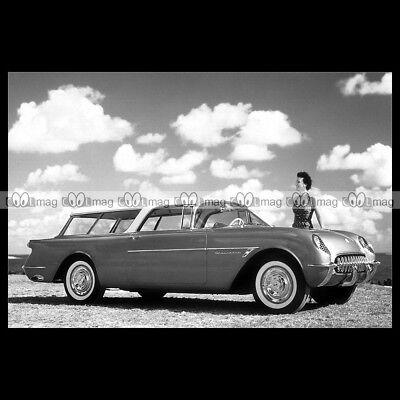 Chevrolet Nomad Concept Car (#pha.014730 Photo CHEVROLET CORVETTE NOMAD CONCEPT CAR 1954 Car Auto)