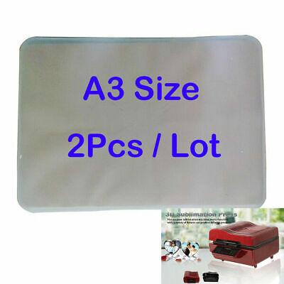 2pcs A3 Size 3d Sublimation Vacuum Machine Film For St-3042 Heat Press