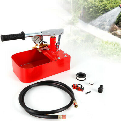 Manual Test Pump Hydraulic Pressure Test Machine Detector Pumps Parts 1000psi Us