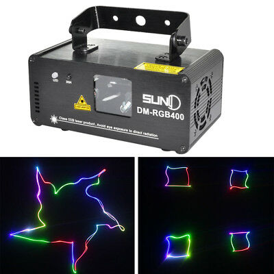 400MW SUNY DMX Control RGB Laser Beam Scan Light Show DJ Party Stage Club (Best Laser Light Show)