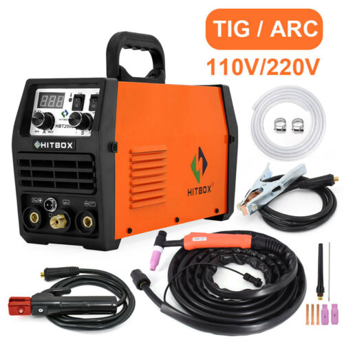 LED Display MMA ARC IGBT 200AMP TIG Welding Machine 110/220V