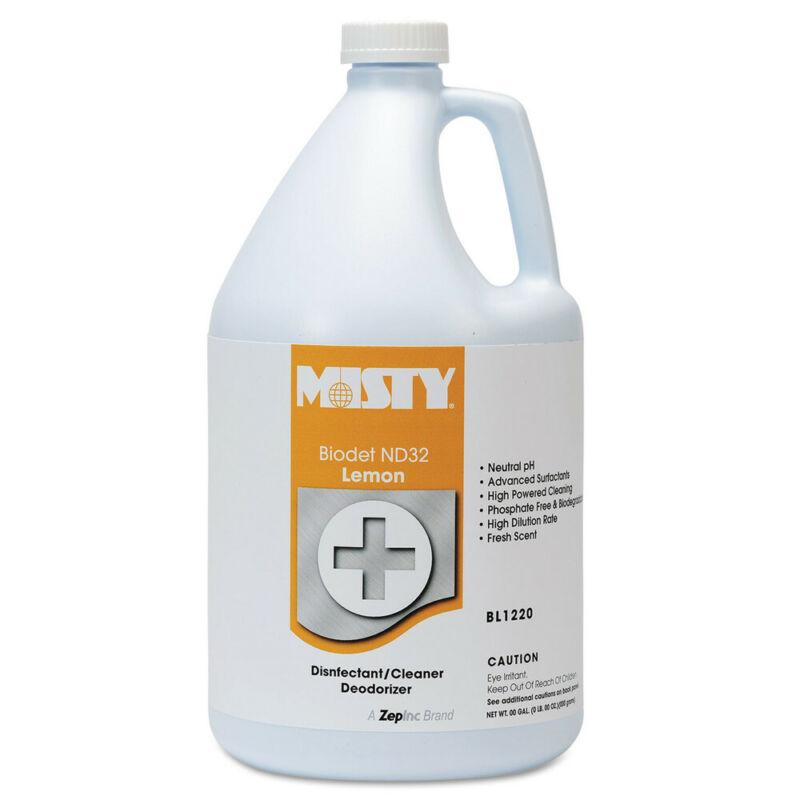 Amrep Biodet Nd-32, Lemon, 1gal Bottle, 4/carton 1038806 NEW