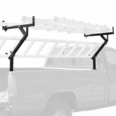 3-Ladder Pickup Truck Lumber Side Mount Rack - Removable Ladder Rack