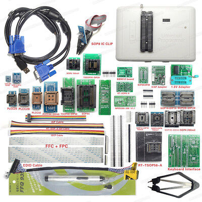 Rt809h Emmc-nand Flash Programmer 31 Adapters With Cabel Emmc-nand Suction Pen