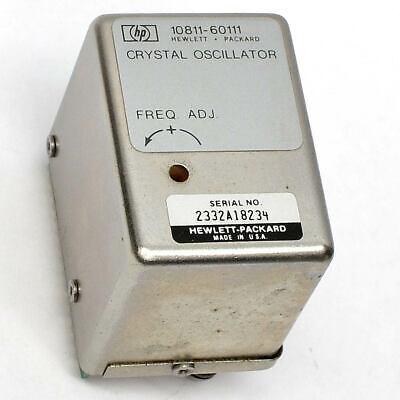 Hewlett Packard Hp 10811-60111 10mhz High Stability Oscillator Time Base Option
