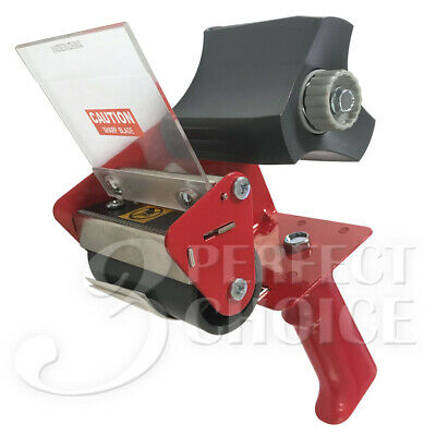 3 Tape Dispenser Gun Packaging Metal Frame Cutter Professional Grade Heavy Duty