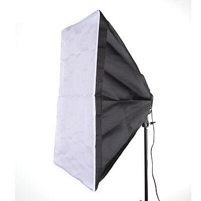"50x70cm 20x28"" Studio Light Photography Softbox For 4 Socket E27 Lamp Bulb Head"
