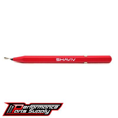Shaviv 29081 - Uniburr Disposable Deburring Tool - Red