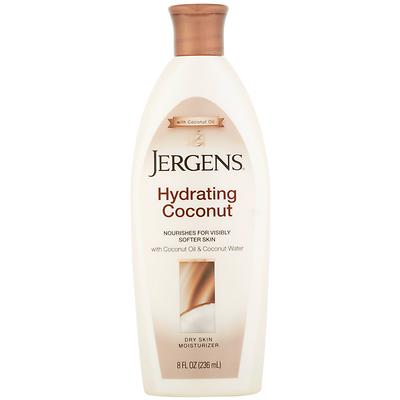 Jergens Hydrating Coconut Dry Skin Moisturizer, 8 Ounces