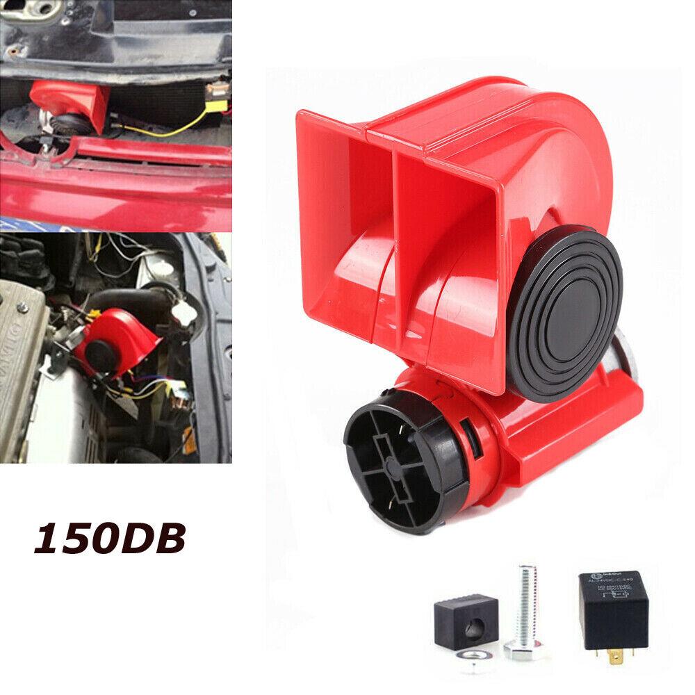 12V Lufthorn Druckluft Horn Fanfare Hupe Kompressor für Auto PKW LKW Boot