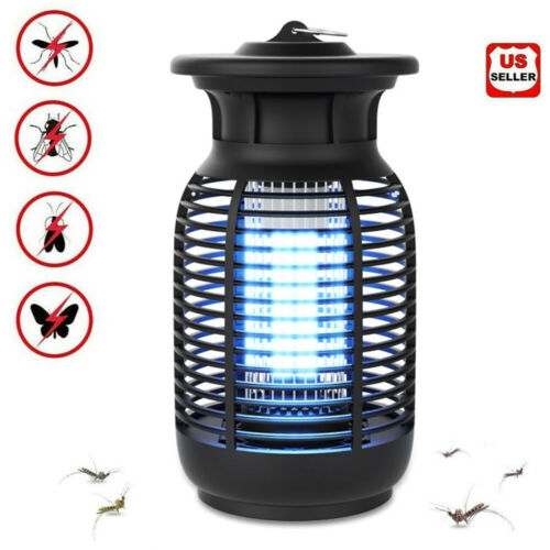 Electronic Bug Zapper Outdoor Indoor Waterproof Mosquito Killer Fly Insect Trap Home & Garden