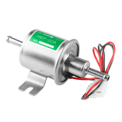 HEP02A New Gas Diesel Electronic Fuel Pump Inline Low Pressure electric fuel12V