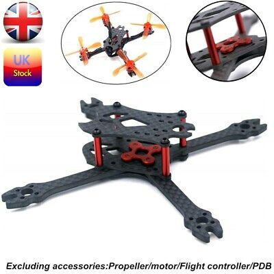 110mm Mini FPV RC Drone Quadcopter Aircraft Betafpv Carbon Fiber Frame Kit Parts