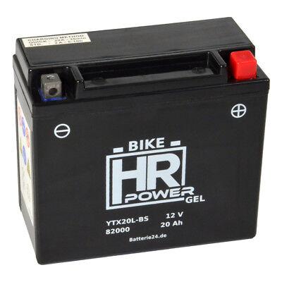 Motorradbatterie Gel 12V 18Ah 52014 82000 YTX20L-BS CTX20L-BS GTX20-BS CTX20L-BS