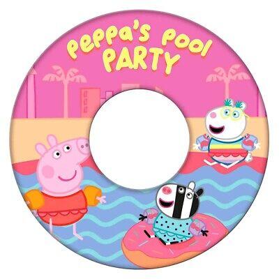 Peppa Pig Wutz Kinder Schwimmring Schwimmreifen neu pink Schwein