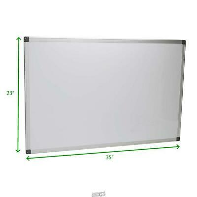 23 In. X 35 In. High Quality Dry Erase White Board Magnetic Board Mind Reader