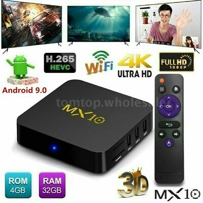 mx10 smart android 9 0 tv box
