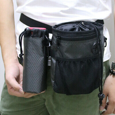 Pet Dog Training Pouch Waist Belt Pet Treat Bags Snack Carrier Storage Bag US