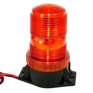 HQRP Amber Beacon Emergency Warning Strobe Light Forklift 12-100V DC or AC