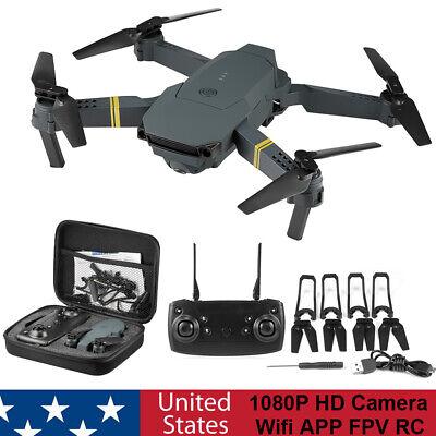 E58 1080P HD Camera Wifi APP FPV RC Drone Foldable Wide-Angle Trajectory Flight