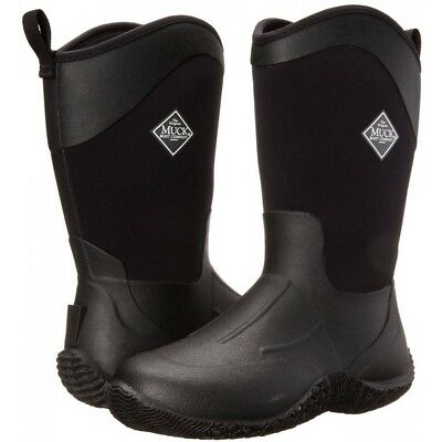 Muck Boots Company Women's TACK II MID EQUESTRIAN WORK, BLACK, Neoprene Rubber Muck, Tack