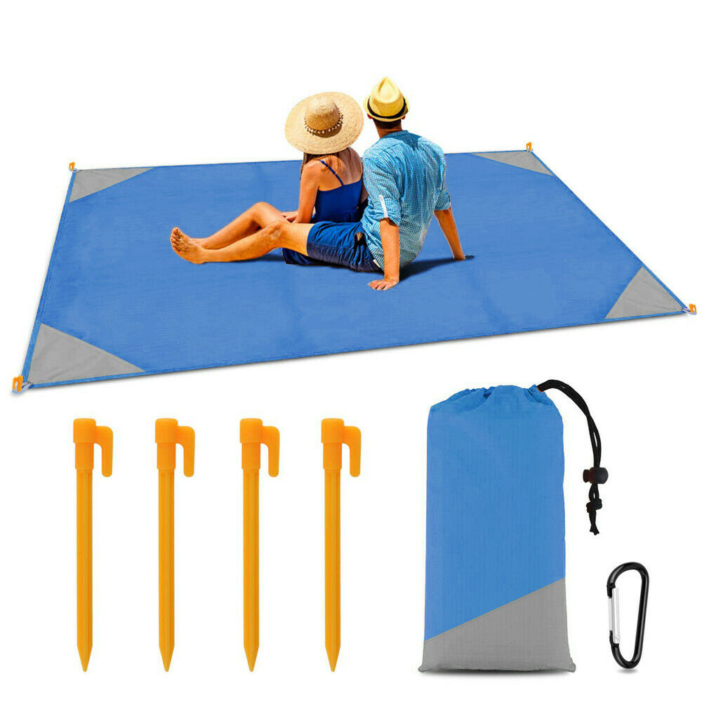 Outdoor Portable Camping Park Rug Hiking Gear Large Picnic B
