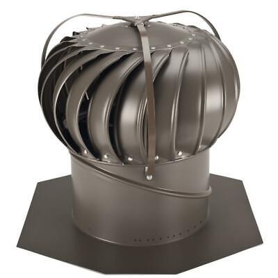 New 12 Inch Aluminum Wind-powered Roof Ventilator Wind Turbine Attic Vent Fan