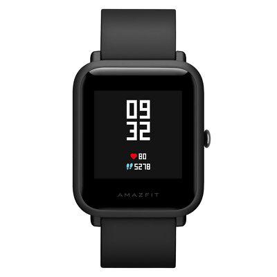 Xiaomi Huami Amazfit Bip Smartwatch GPS Schrittzähler Herzschlagmonitor Schwarz - Smart Watch