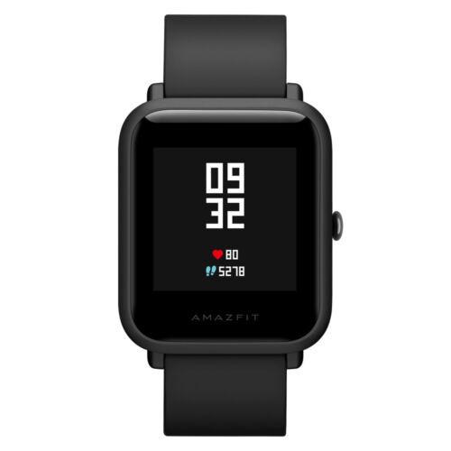 Xiaomi Huami Amazfit Bip Smartwatch GPS Schrittzähler Herzschlagmonitor Schwarz