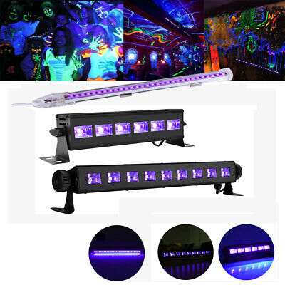 9W 18W 27W 36W Black Light Bar UV LED DJ Party Club Festival Stage Decor - Black Light Decor