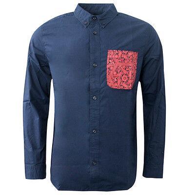 Adidas Originals Chinese New Year Long Sleeve Mens Shirt Top Navy S20396 DD59