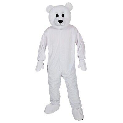 Erwachsene Eisbär Maskottchen Outfit Kostüm Weihnachten Animal - Weihnachts Maskottchen Kostüm